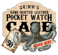 Order Handcrafted Leather Pocket Watch Cases Made just for you